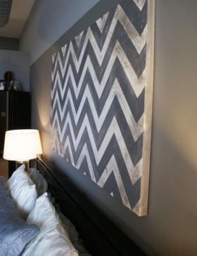 卧室背景墙装修效果图124