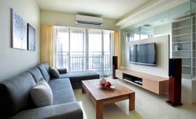 70平米公寓客厅茶几装修效果图