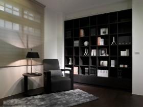 140平公寓书房书架装修效果图184