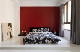 120平复式卧室装修效果图697
