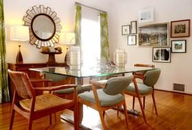 三居室餐桌装修效果图468