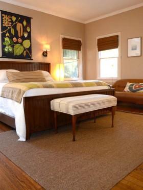 110平家居温馨舒适卧室装修效果图
