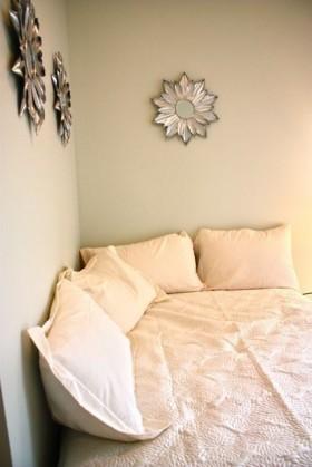 50平米小户型卧室背景墙装修效果图