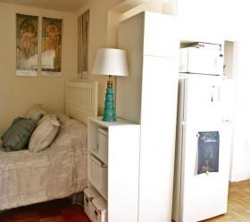 60平米卧室床头柜装修效果图