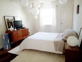 70平米家居卧室装修效果图