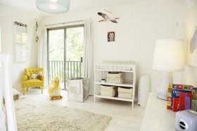 110平舒适三居儿童房装修效果图