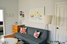 一居室沙发背景墙装修效果图121