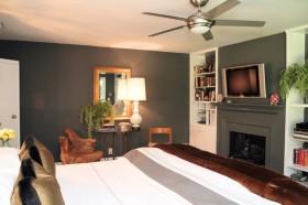 110平三居卧室装修效果图