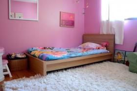 粉色背景墙装修效果图13