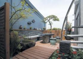 清新讨喜公寓房花园 现代极简氛围