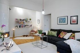 56平米客厅沙发装修效果图