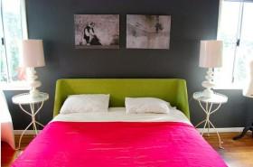 110平简洁卧室装修效果图73