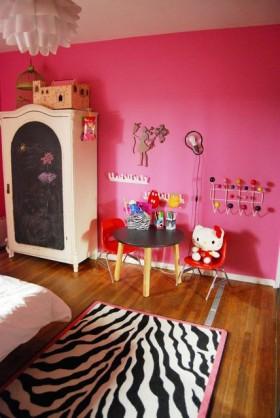110平儿童房装修效果图