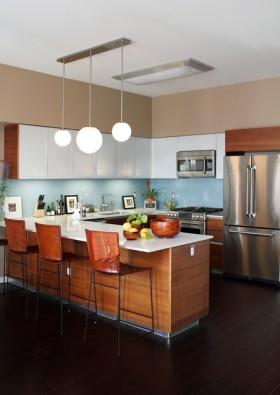 厨房吧台装修效果图339