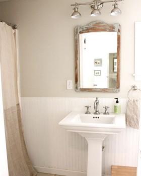 110平简洁卫生间装修效果图