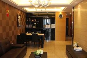 二居室餐厅背景墙装修效果图65
