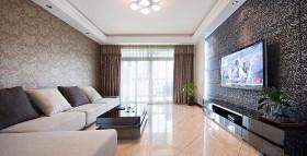 120平现代客厅装修效果图87