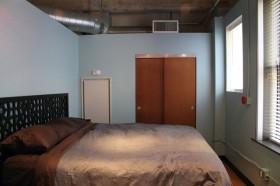 120平公寓简约卧室衣柜装修效果图91