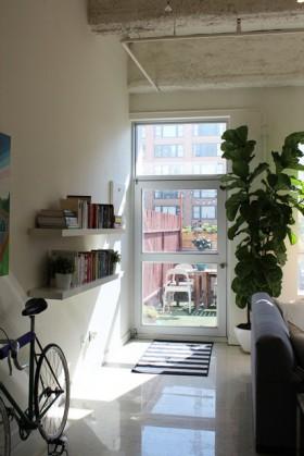 110平米公寓书架装修效果图