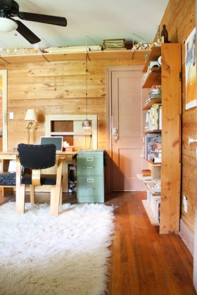 一居室书架装修效果图170