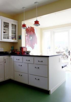 110平简约厨房装修效果图