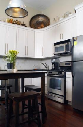 二居室厨房装修效果图329