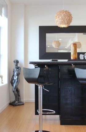 110平现代公寓装修效果图