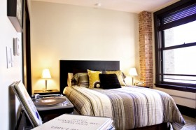 卧室背景墙装修效果图353