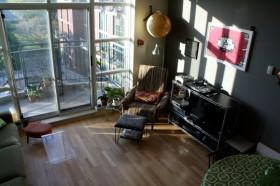 110平复式客厅装修效果图