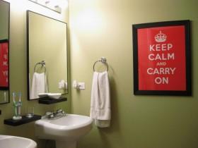 135平卫生间洗手台装修效果图169