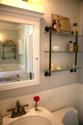 婚房简洁卫生间装修效果图347