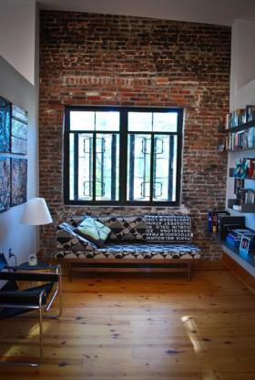 145平loft公寓客厅装修效果图719