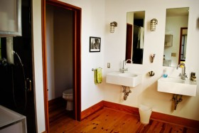 135平loft公寓洗手台装修效果图16