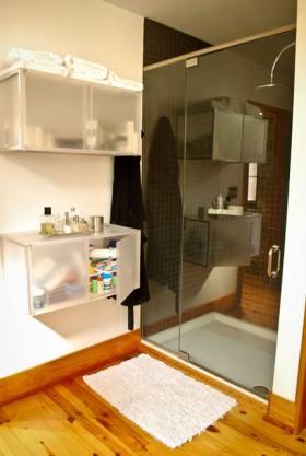 公寓浴室柜装修效果图60