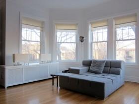 110平简约客厅沙发装修效果图7