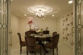 140平二居餐厅装修效果图458