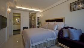 婚房卧室床装修效果图497