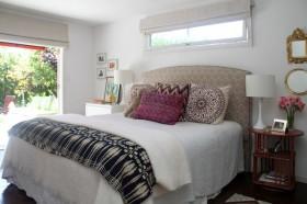 110平简洁时尚卧室装修效果图