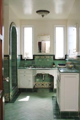 110平厨房装修效果图