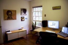 60平米书房装修效果图
