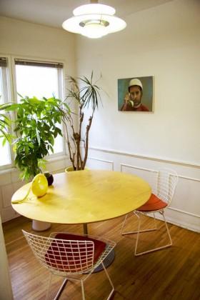 60平米公寓餐桌装修效果图
