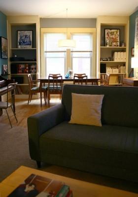 110平米海外别墅客厅装修效果图