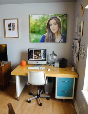 120平公寓书桌装修效果图33