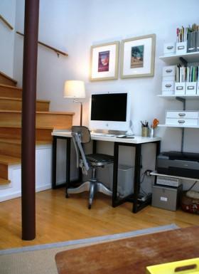 120平公寓书房装修效果图6