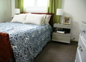 120平公寓卧室装修效果图615