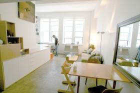 40平米小户型客厅沙发装修效果图