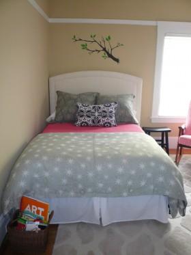 婚房舒适卧室装修效果图117