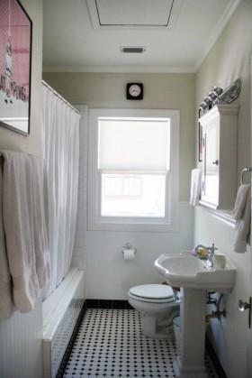婚房简洁卫生间装修效果图326
