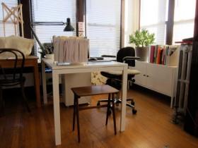 120平简约公寓书房装修效果图
