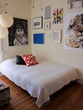 120平简约卧室装修效果图79